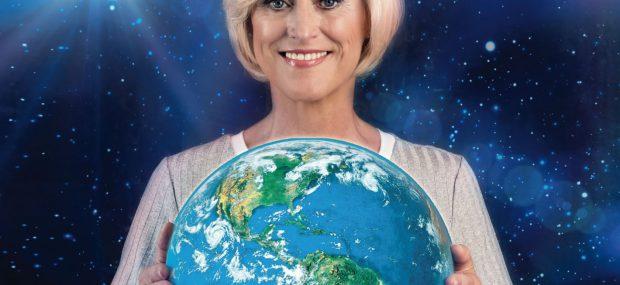 Ines Marie Jaeger - Blaue Welt - COVER